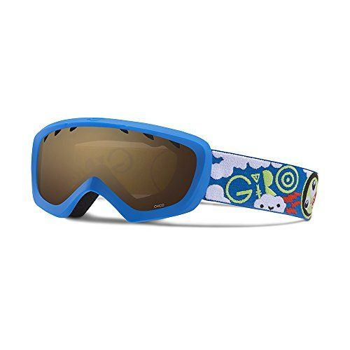 Giro Chico Kids Snow Goggles BlueLime Space  Amber Rose ** You can get more details by clicking on the image.