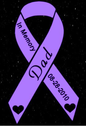 In Memory Ribbon car decal by SuperBVinyl on Etsy