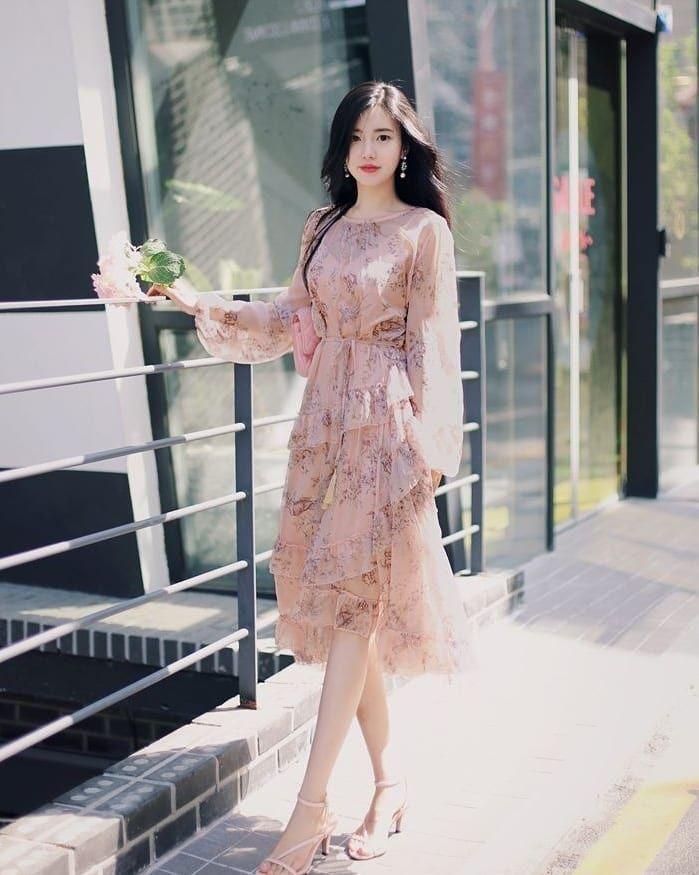 Woman Casual Wear Vintage Style Fall 2021 Cute K Pop Amazon Instagram College Korean Fashion Dress Fashion Korean Fashion Trends