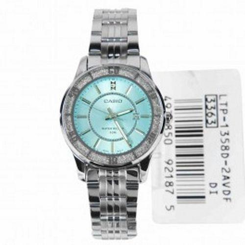 Casio Classic Analog Female Watch LTP-1358D-2AV