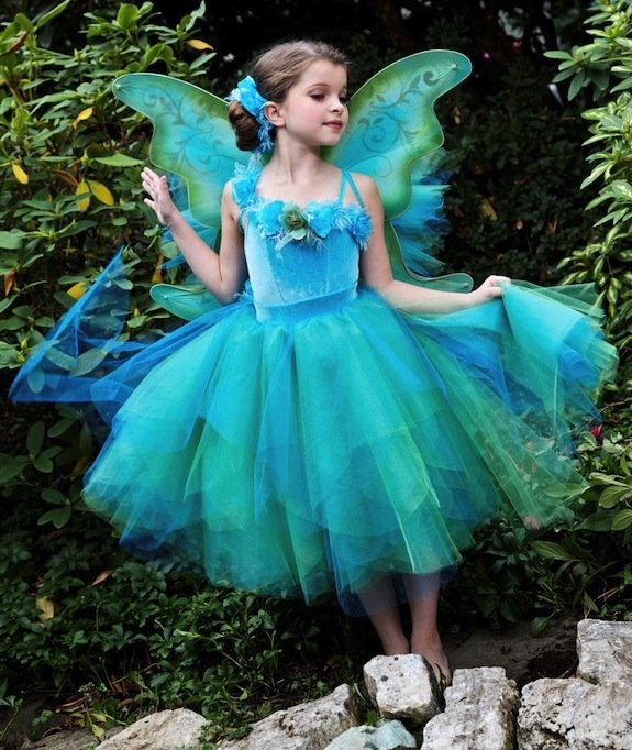 Short Blue Fairy Dress