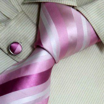 mens ties designer mftm  #Mens Ties:Pink Striped Designer Mens Ties
