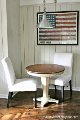 Small Round Table To Pair Extra Dining Room Chairs With Make Slip Covers In Family