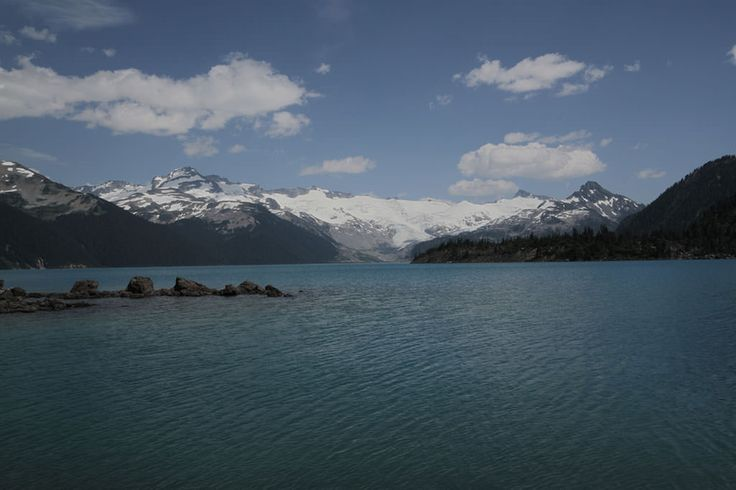 The view of Garibaldi Lake