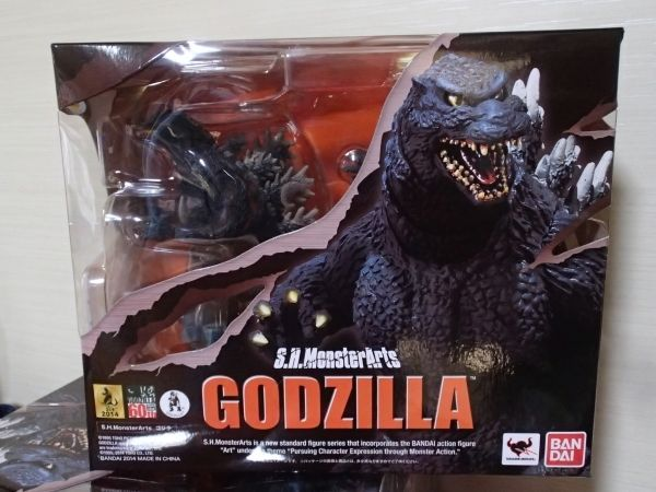 New SH Monster Arts Godzilla series Godzilla Rare Limited F/S #SHMonsterArts