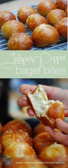 Jalapeno Popper Bagel Bites