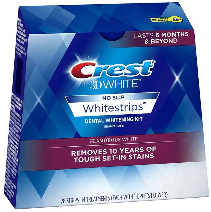 Crest 3D Whitestrips Advanced Vivid Glamorous White Teeth Whitening