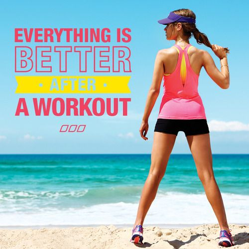 THIS IS SOOO TRUE!!! I remember before I stared exercising, i was always lazy, but after exercising it has given me more energy than i could imagine! it makes me soo happy i will just start laughing at everything. i become relaxed, it reduces anxiety, make me become confident and helps me become fit:)
