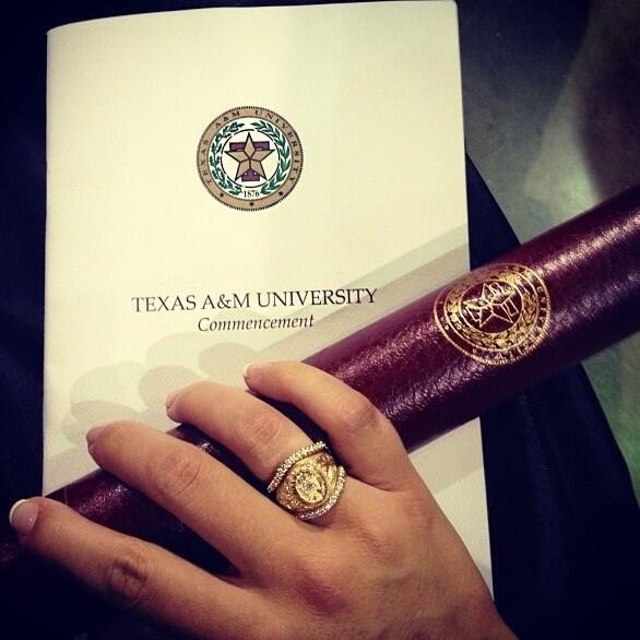 I have to get this- Aggie ring- Ring Wraps