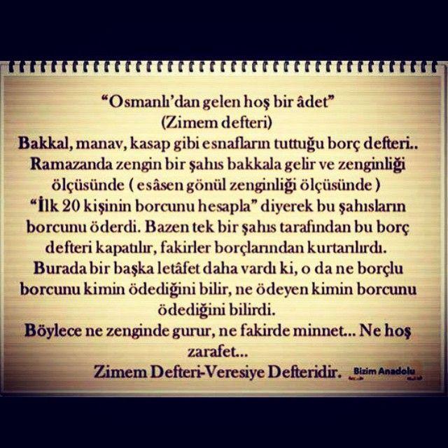 Zimem Defteri #OsmanlıDevleti