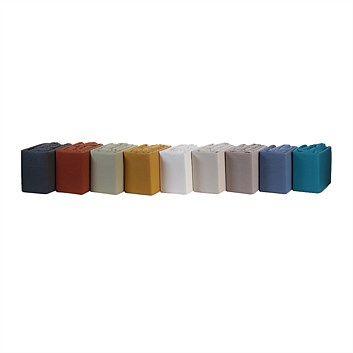 Briscoes - Essential Collection Plain Dyed Flannelette Sheet Set