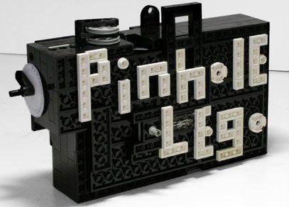 Lego pinhole camera