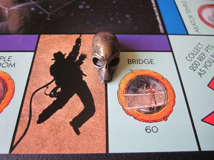 Indiana Jones Monopoly Crystal Skull Game Replacement Crafts Art Supplies #Hasbro