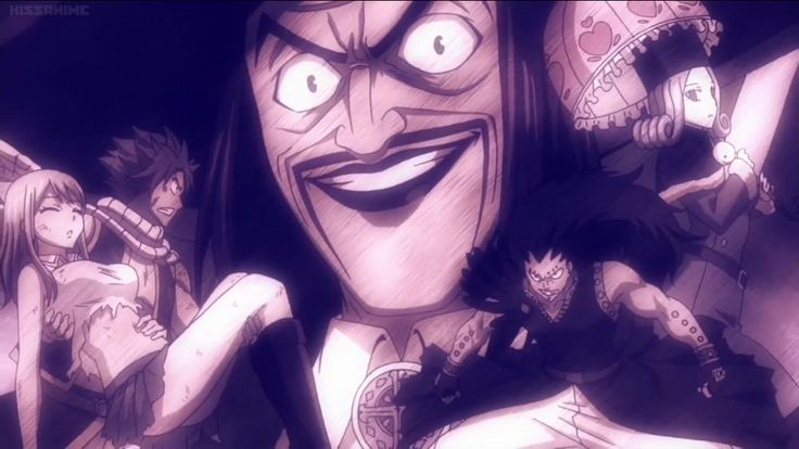 Arc post #3... The Phantom Lord arc is the 5th and the Loke arc the 6th one. The P L arc os also the arc with character who is sharing first place on the 'WHO IS THE UGLIEST FAIRY TAIL CHARACTER?' list together with Ichiya... That guild master is completely horrifying!