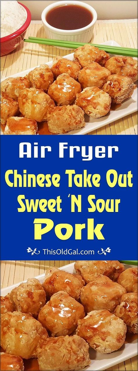 Air Fryer Chinese Take Out Sweet 'N Sour Pork Image