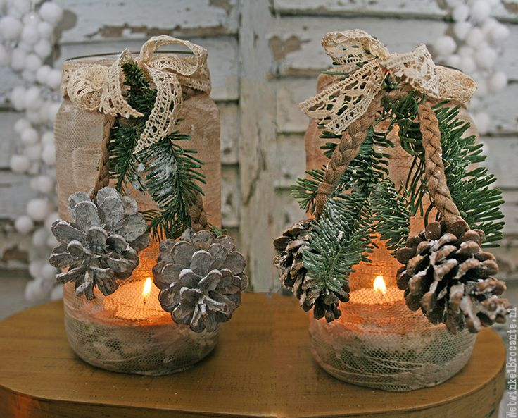 Kerst Brocante Decoratie -Christmas Brocante Decoration