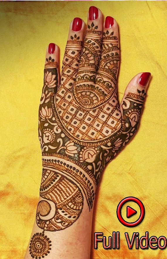 Beautiful Mehndi Design For Back Side Of Hands 2019 Best