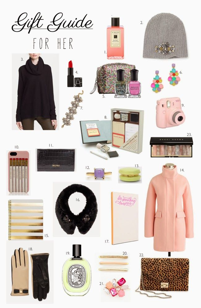 gift guide for her girl stuff pinterest gifts gift guide and christmas gifts