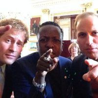 Prince William & Prince Harry Take Royal Selfie, Launch Queen's Young Leaders Program