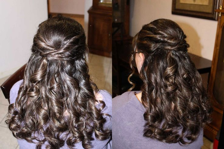 Bridal hairstyle Calgary