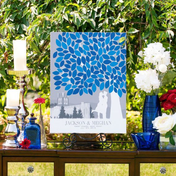 Wedding Guest Book Tree