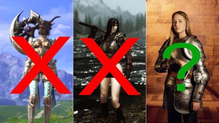 Como eram as armaduras das mulheres medievais?