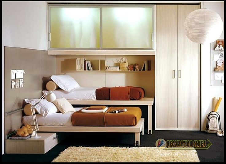 Choice Of 20 Models Of Modular Bedroom Furniture Kids Grow Up Happy. Small  Bedrooms Decor ...