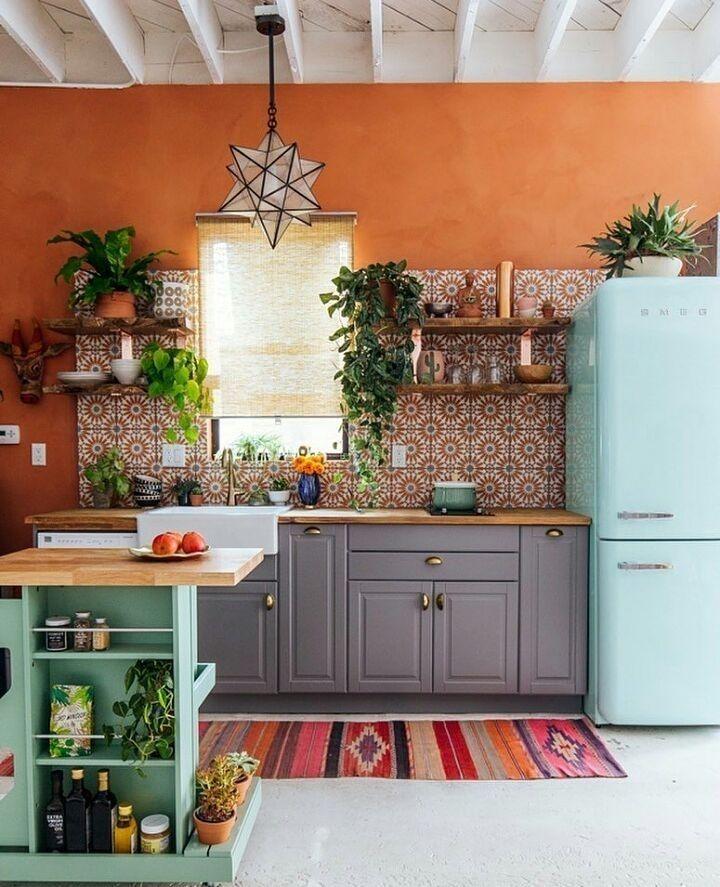hippie style magazine s instagram photo kitchen goals photo via thejungalow bohemiandecor on kitchen decor hippie id=63374