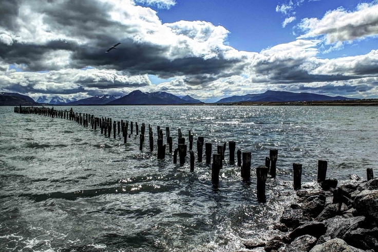 Puerto Natales, Patagonia, chile.