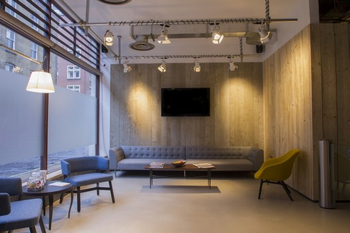 17 best images about office work place on pinterest for Retail design companies london