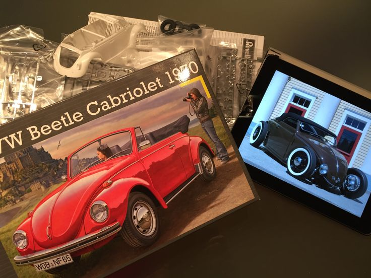 From classic VW Kever Cabrio to Modern Kever Cabrio Hotrod Model Revell, scale 1/24 by Dutchmodelbuilder.