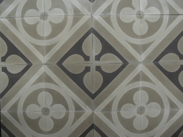 Portugese tegels flowerz 3 encaustic tiles cement tiles collection floorz badkamer - Cement tegels geloofwaardigheid ...