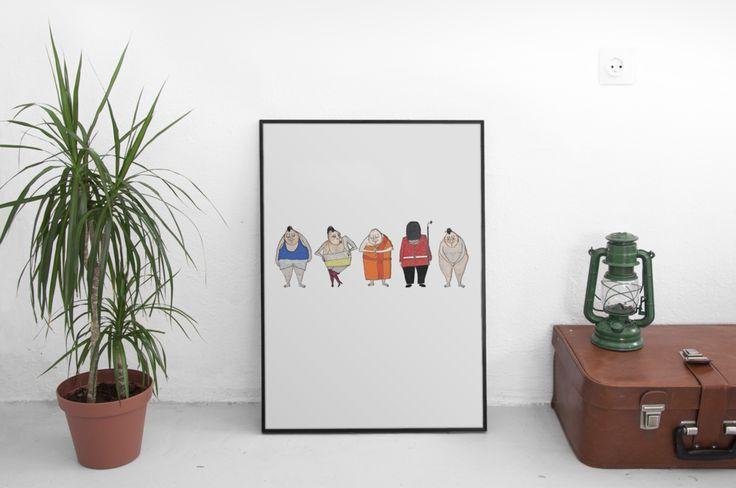 Simple Monday Design Illustration
