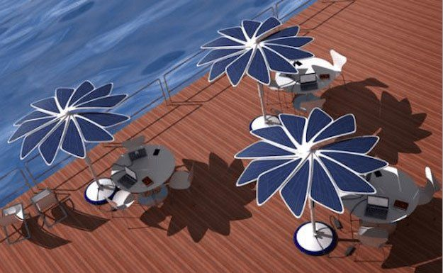 Solar Power Sunshade | Cool Solar Powered Inventions