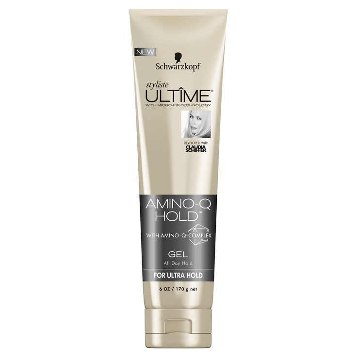 Schwarzkopf Styliste Ultime Amino-Q Hold Hair Gel - 6 oz