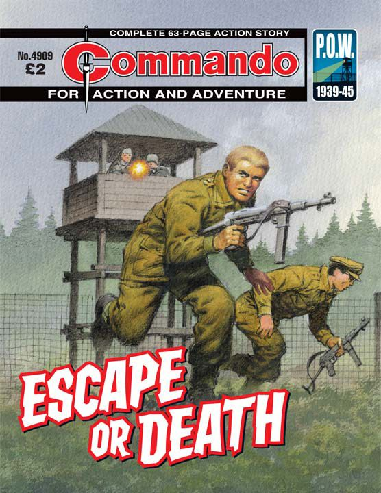 Commando: For Action and Adventure #4909 - Escape Or Death16 (Issue)