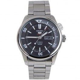 Seiko 5 Sports SRPB27J1 SRPB27 Automatic Stainless Steel Bracelet Analog Mens Watch