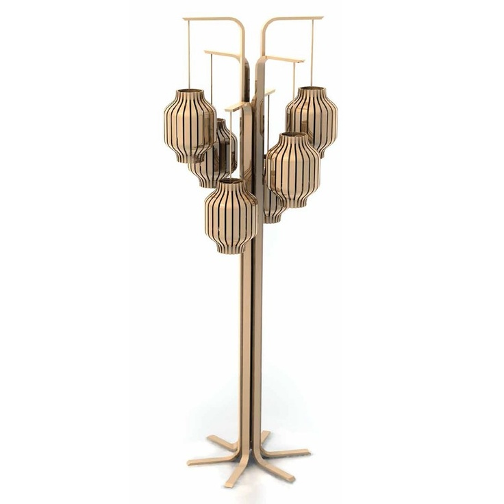 This is a fun Floor lamp by Maison Jacques Charles Paris.