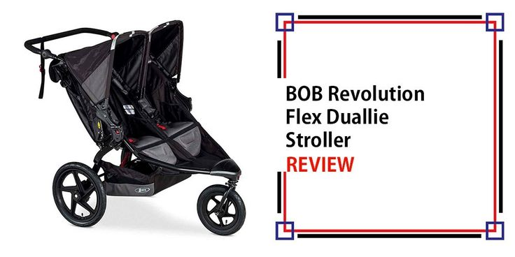 Double jogging stroller - back into great shape together with newborn