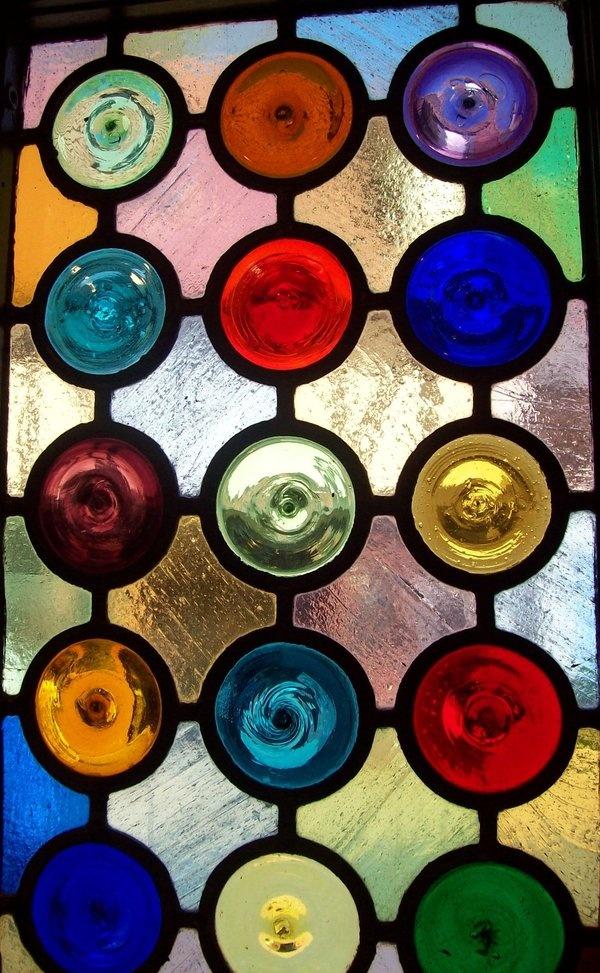 Best 36 Rondels Amp Bulls Eye Glass Images On Pinterest Other