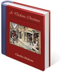 "A Dickens Christmas: A Christmas Carol and Other Stories - Snuggle up next to the fire on a cold winter's night with this collection of several classic holiday stories by the great Charles Dickens, including ""A Christmas Carol,"" ""The Cricket on the Hearth,"" ""The Chimes,"" ""The Christmas Goblins,"" ""The Poor Traveler,"" and ""The Holly-Tree,"" with several illustrations."