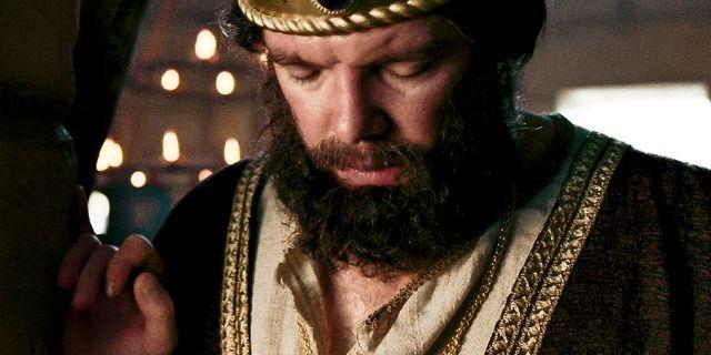 Ezequias fazendo oração