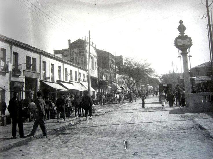 Avenida de la Albufera en 1927