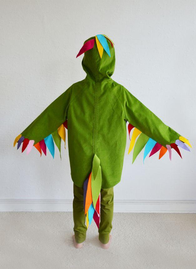 Kostume Fur Kinder Paradiesvogel 4 5 Jahre Papagei Papageno