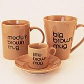 Bloomingdale's Big Brown Mug