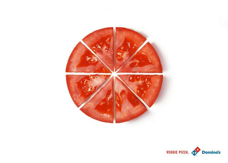 Adeevee - Domino's Veggie Pizza: Tomato, Onion