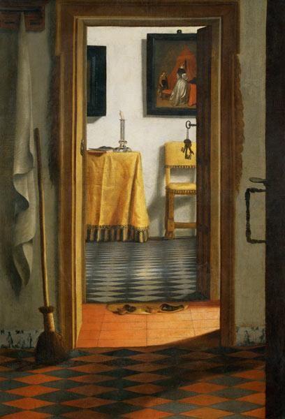 Samuel van Hoogstraten - The Slippers