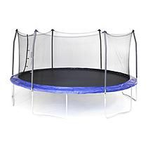 17 x 15 Oval Trampoline and Enclosure Combo - Blue