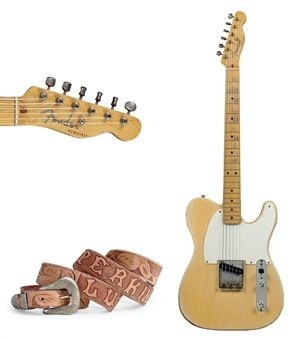 One of four Fender Esquires owned and played by the Great Luther Perkins. He was Johnny Cash's guitarist. He used a borrowed Esquire to play the haunting runs on (I Walk the Line)....
