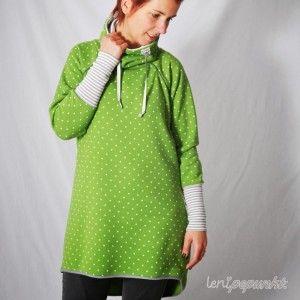 RAGLANpulli • Pullover Pulli Sweatshirt • Schnittmuster + Nähanleitung • leni pepunkt • sewing pattern • jumper • nähen